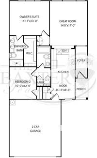Brookside Floorplan
