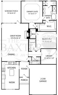 Willow Bend Floorplan